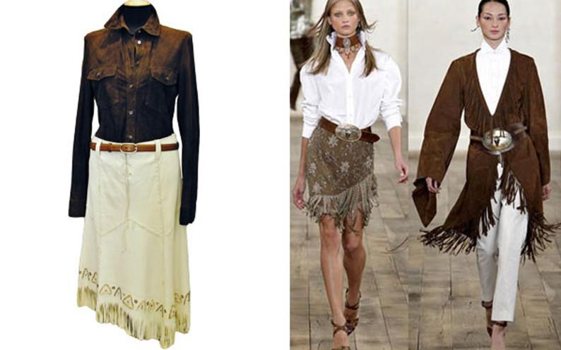 Ben noto Vestito stile country chic - Fashion touch italy FP29