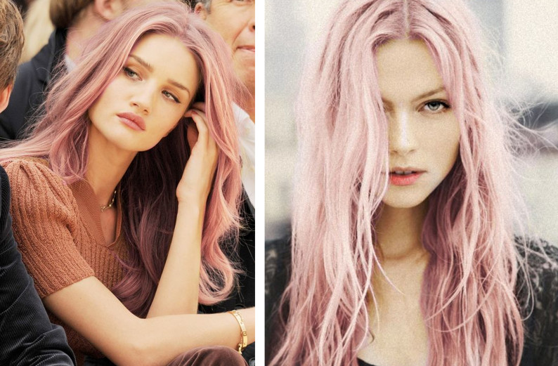 Capelli rosa shock ing
