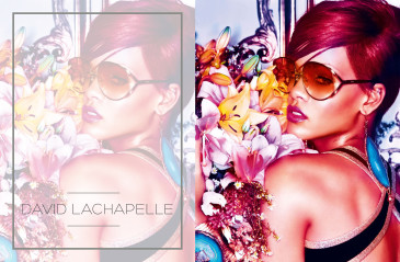 DAVID LACHAPELLE RIHANNA