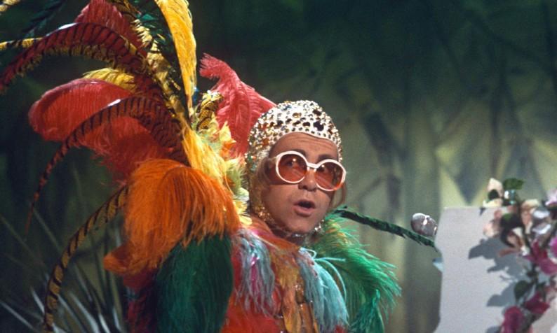 Elton John in 1977