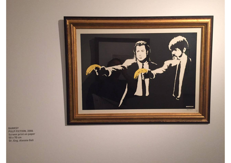 banksy pulp fiction