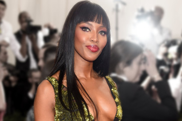 "NEW YORK, NY - MAY 04: (EDITORS NOTE: Image has been digitally altered.) Naomi Campbell attends the""China: Through The Looking Glass"" Costume Institute Benefit Gala at the Metropolitan Museum of Art on May 4, 2015 in New York City. (Photo by Dimitrios Kambouris/Getty Images)"
