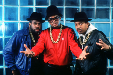 Rappers Run DMC photographed in New York. 1988 Photo by Frank Micelotta/ImageDirect *** Special Rates Apply ***