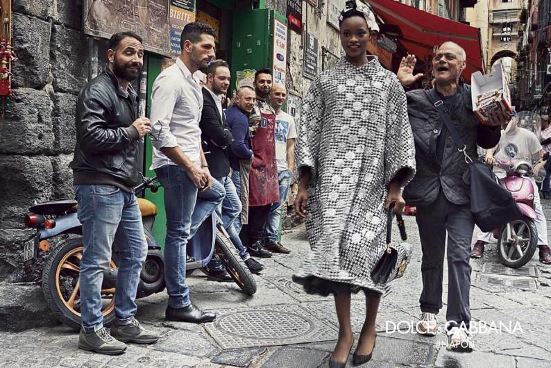 buy popular ab910 5d0c4 Napoli: la sfilata di Dolce&Gabbana