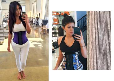 Kylie Jenner con il corsetto di Premadonna