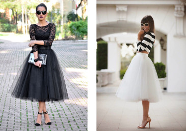 gonna in tulle trend autunno