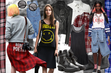 moda ispirata anni 90