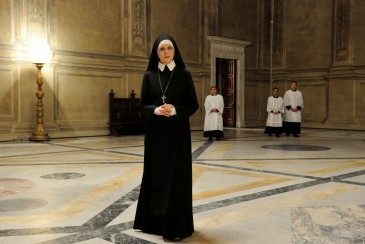 """set of""""The young Pope"""" by Paolo Sorrentino. 10/22/2015 sc. 264 ep. 2 In the picture Dyane Keaton. Photo by Gianni Fiorito"""