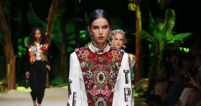 Dolce & Gabbana Fashion Show SS 2017 Milan