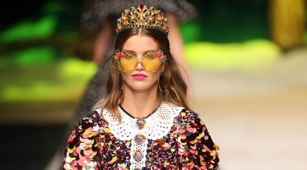 Dolce & Gabbana Fashion Show SS 2017 tropico