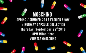 Moschino Capsule Collection primavera-estate 2017