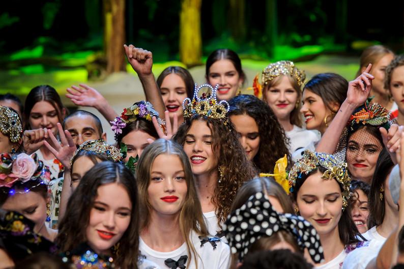 Milan Fashion Week SS17 Dolce Gabbana show