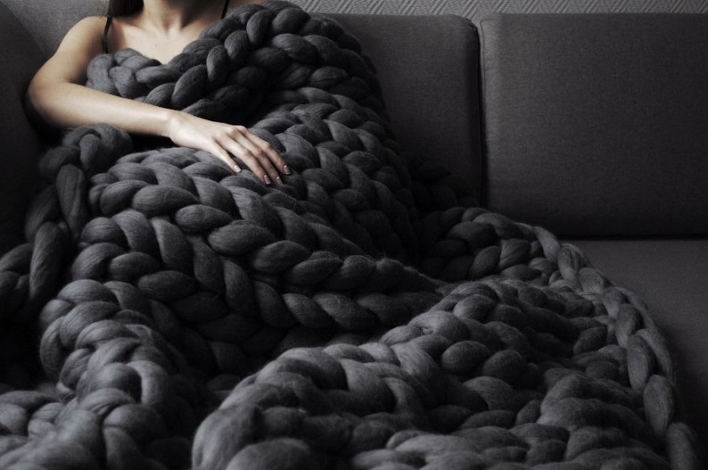 Chunky Knit Blankets chci style