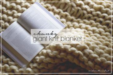 Giganto blanket pattern Laura Birek