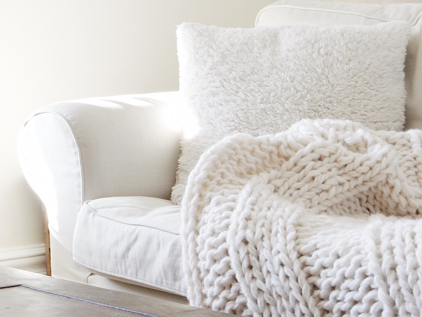 Chunky Yarn Knit Blanket Pattern Gallery Handicraft Ideas Home