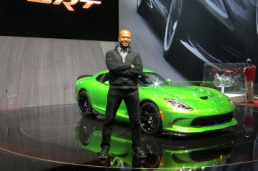 ralph-gilles-with-2014-srt-viper-stryker-green