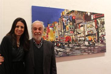Brooke Harker, curatore della mostre Alfio Borghese e Acrobaleno Nights Satura Art Gallery Genoa