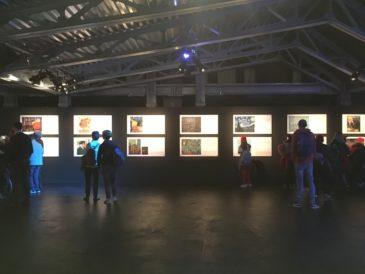 Sala - mostra Van Gogh