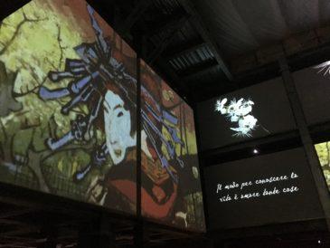 Schermi - mostra Van Gogh