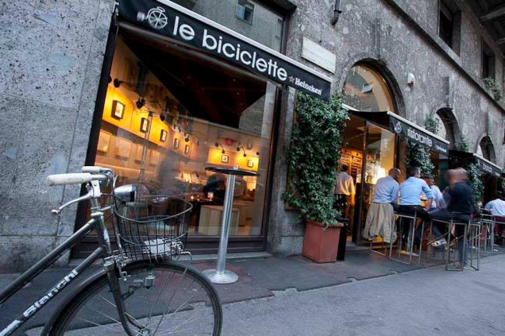 Insegna Le Biciclette Milano