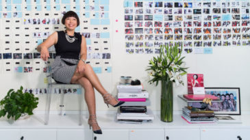 Angelica Cheung, Editor of Vogue China...Angelica Cheung, editor