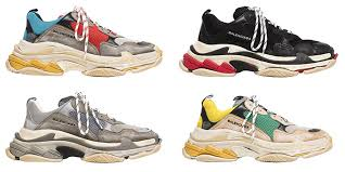 colors balenciaga shoes