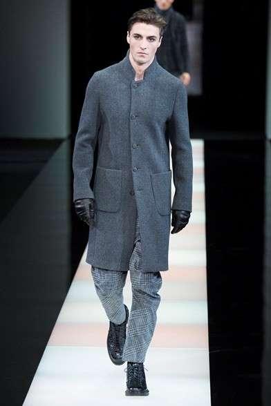 e57e0b9e00 cappotto-grigio-giorgio-armani - Chic Style